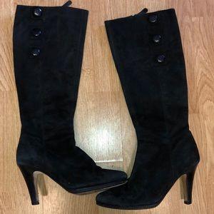 Cole Haan Women's Size 8 Knee High Boots Black